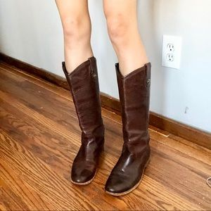 FRYE tall equestrian/ riding boots